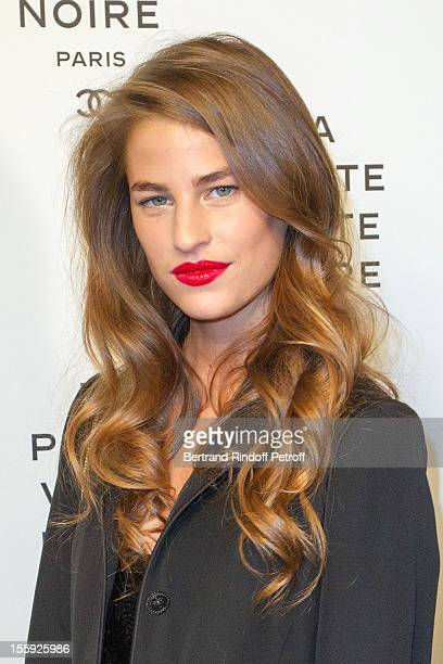 Solene Hebert attends 'La Petite Veste Noire' Book Launch Hosted By Karl Lagerfeld Carine Roitfeld at Grand Palais on November 8 2012 in Paris France