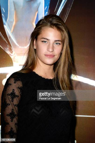 Solene Hebert attends the 'Baccarat 250 Years' Book Launch Party at Maison Baccarat on November 21 2013 in Paris France