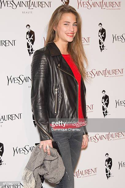 Solene Hebert attends the 'Yves Saint Laurent' Paris Premiere at Cinema UGC Normandie on December 19 2013 in Paris France