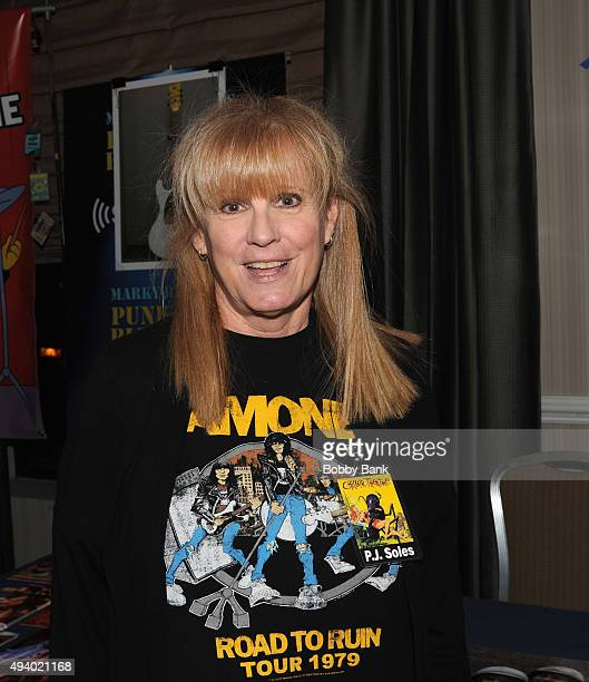 Soles attends the Chiller Theatre Expo Day 1 at Sheraton Parsippany Hotel on October 23 2015 in Parsippany New Jersey