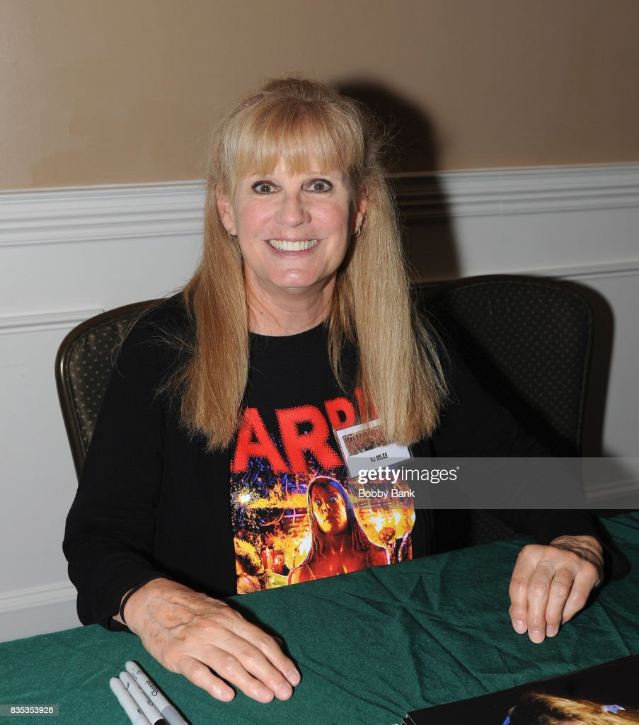 PJ Soles attends the Monster Mania Con 2017 at NJ Crowne Plaza Hotel on August 18, 2017 in Cherry Hill, New Jersey.