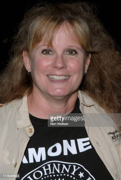PJ Soles during Hollywood Forever Cemetery Hosts Ramones Punk Rock Screenings of Live Concert Film It's Alive and Rock and Roll High School at...