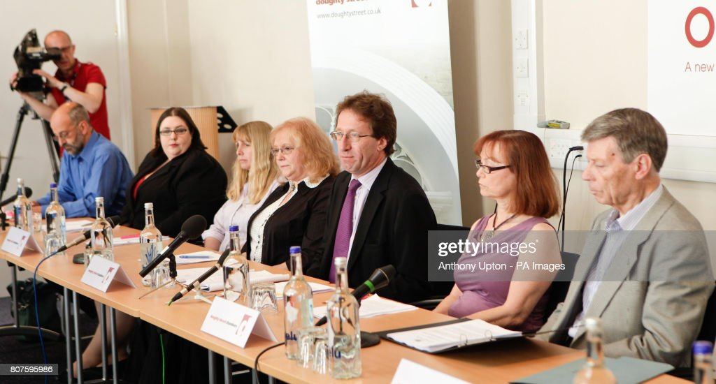 Solicitor Clifford Tibber Speaks To The Media During A Press News Photo Getty Images