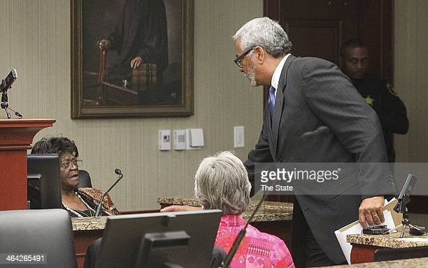 Solicitor Ernest Chip Finney III questions Aimee Ruffner sister of George Stinney The 70yearold case of George Stinney known as the youngest person...