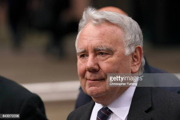 Solicitor Peter Metcalf who acted for South Yorkshire Police following the Hillsborough disaster leaves Preston Crown Court on September 6 2017 in...