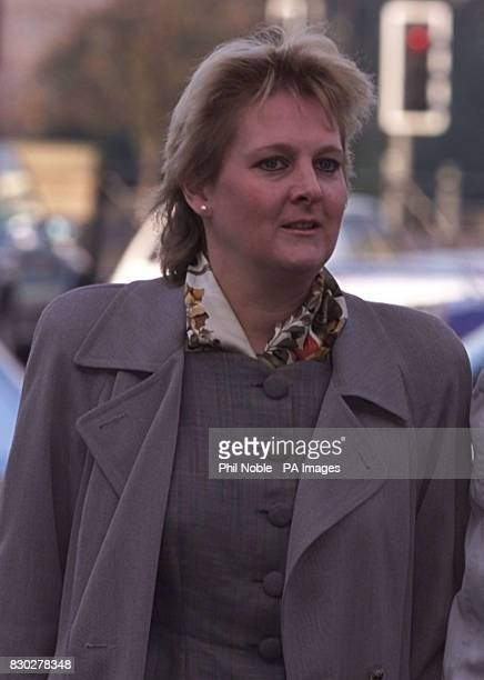 Solicitor Sally Clark from Wilmslow Cheshire arrives at Chester Crown Court where the jury in her trial where she faces charges of murdering her two...