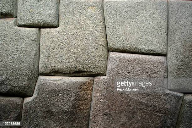 Solid Like a Rock Carved Inca Stone Wall Cuzco Peru
