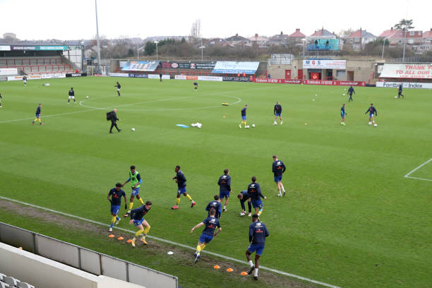 GBR: Morecambe v Solihull Moors - FA Cup Second Round
