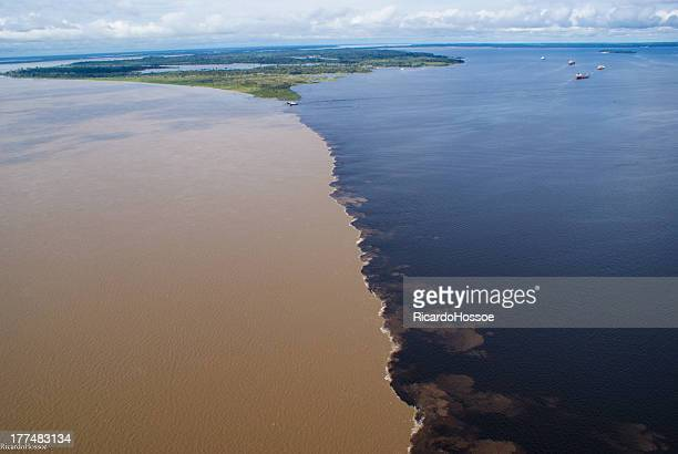 Solimões and Negro rivers