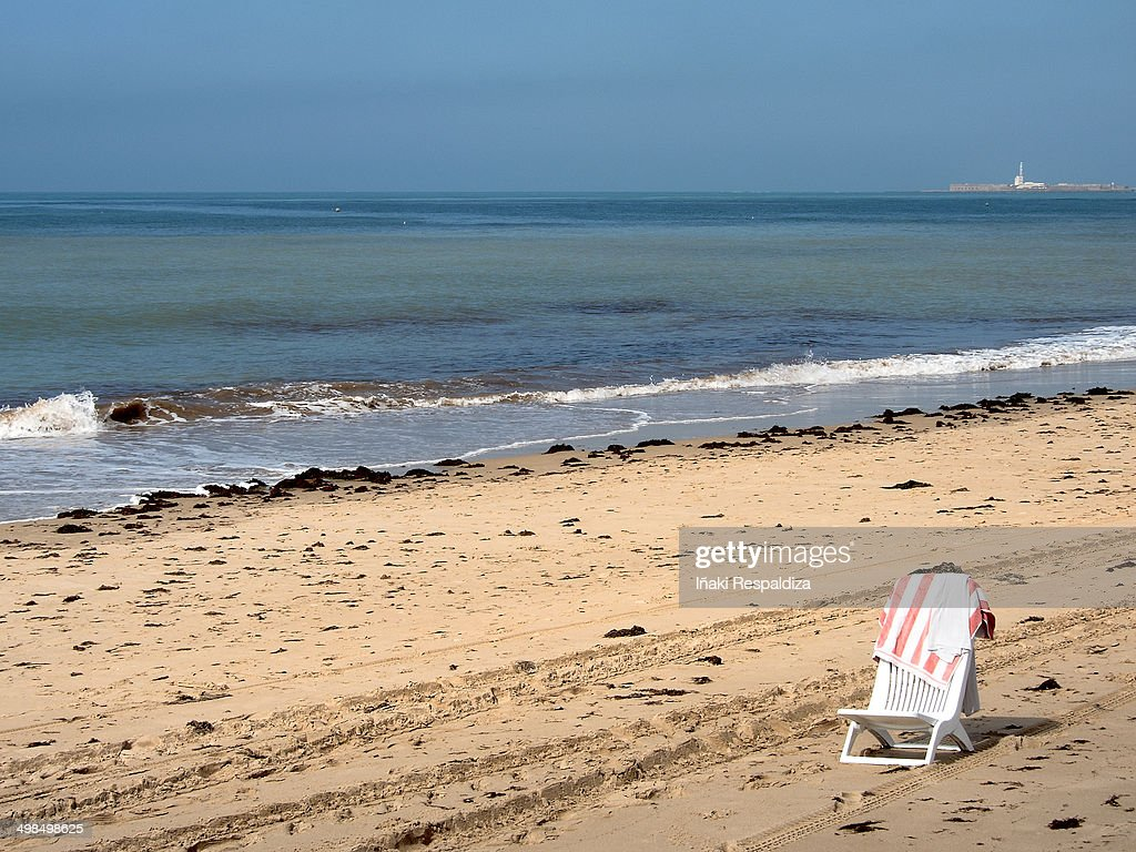 Solitary beach : Foto de stock