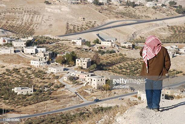 solitary man in palestine - palestinian stock photos and pictures