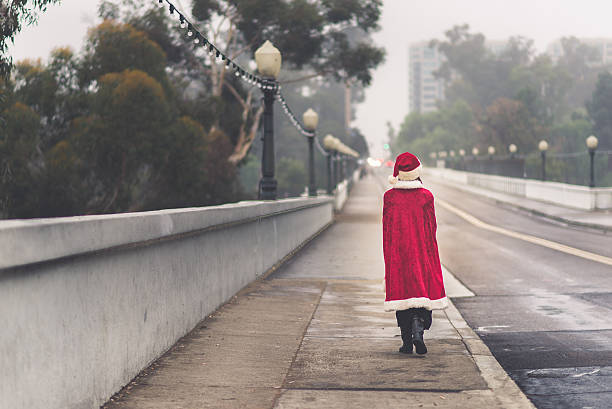 Solitary Santa