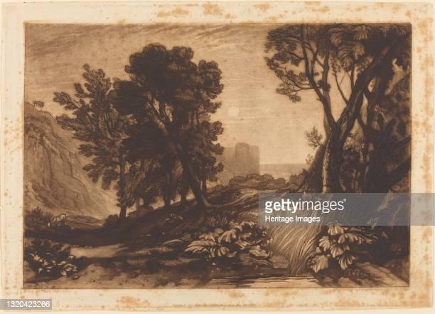 Solitude, published 1814. Artist JMW Turner.
