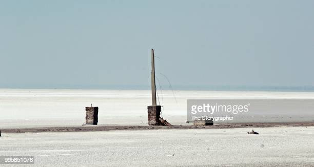 solitude, salt lake gujarat - the storygrapher stockfoto's en -beelden