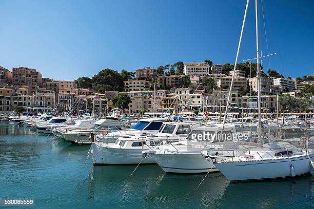 Soller, Mallorca, Boats in marina