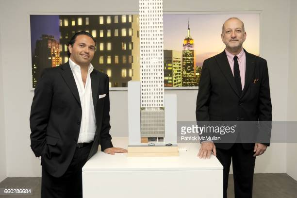 Solly Assa and Enrique Norten attend Preview Cocktail Party for the Launch of CASSA Designed by ENRIQUE NORTEN at CASSA Showroom on June 8, 2009 in...