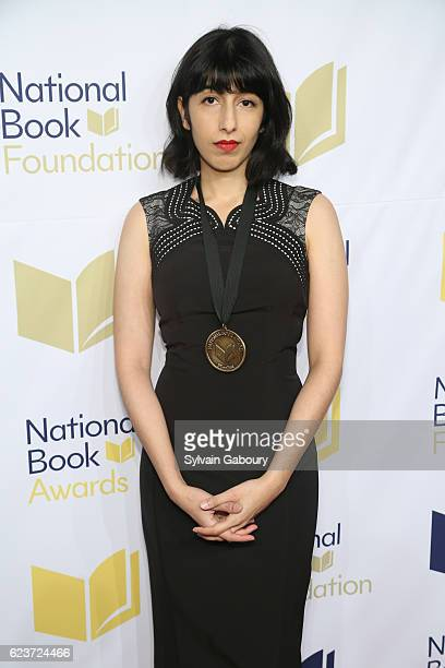 Solmaz Sharif attends The 67th National Book Awards Ceremony Benefit Dinner at Cipriani Wall Street on November 16 2016 in New York City
