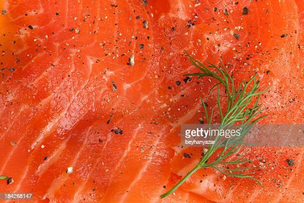 tessuto solmon - salmone affumicato foto e immagini stock