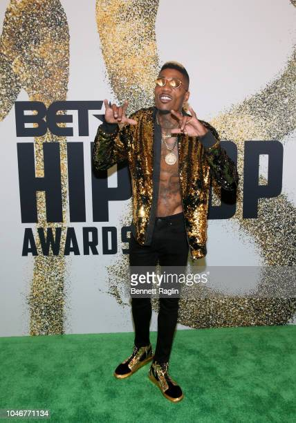 Solo Lucci arrives at the BET Hip Hop Awards 2018 at Fillmore Miami Beach on October 6 2018 in Miami Beach Florida
