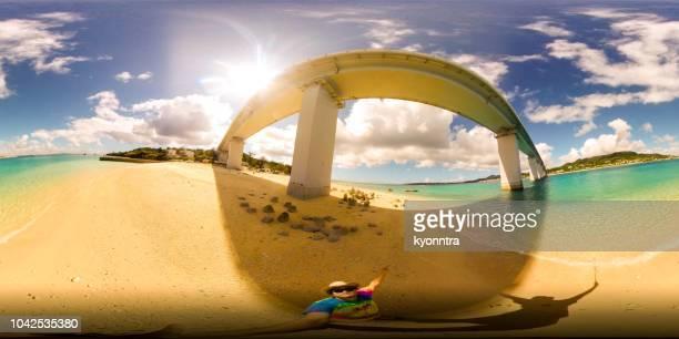 ハワイの旅 - 全天周パノラマ ストックフォトと画像