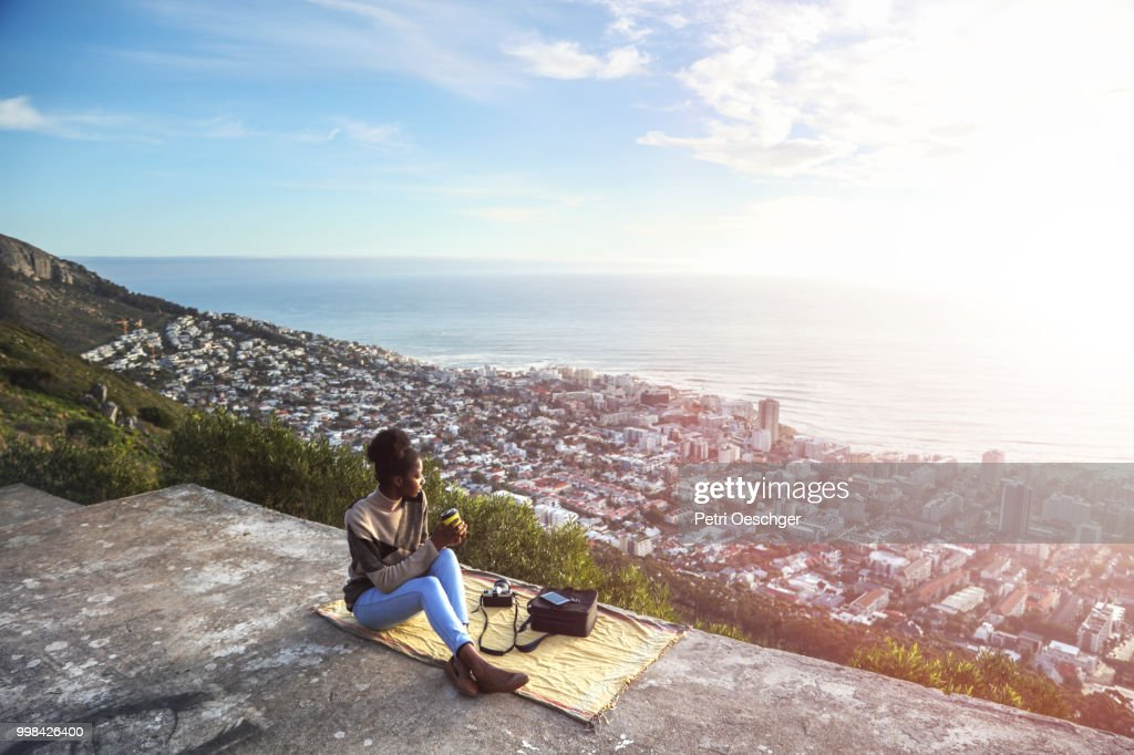Solo Traveller. : Stock Photo