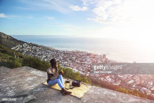 solo traveller. - south africa stock pictures, royalty-free photos & images