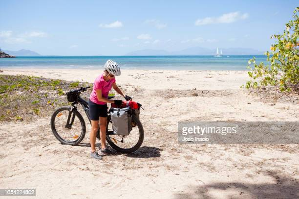 Solo Woman Bike-packing in Remote Australia