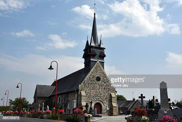 sologne church - sologne stock photos and pictures