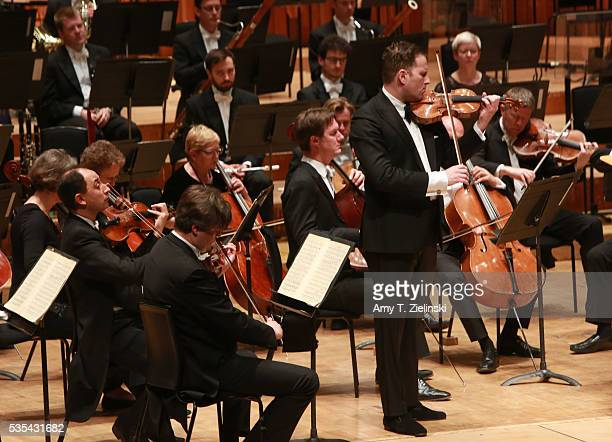 Soloist violinist Nikolaj Znaider plays the Beethoven Violin Concerto as Sir Antonio Pappano conducts the London Symphony Orchestra at Barbican...