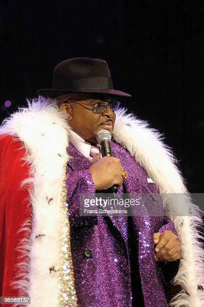 Solomon Burke performs live on stage at the North Sea Jazz Festival in The Hague, Holland on July 09 2005