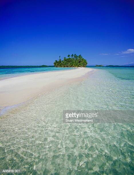 Solomon Islands, Russell Islands group, sandy beach (Composite)