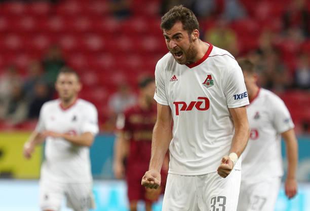 Solomon Kvirkvelia has been excellent for Lokomotiv this season. (Photo by Epsilon/Getty Images)