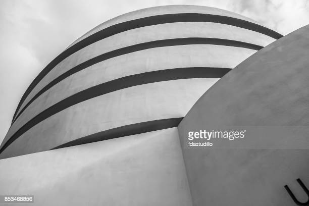 solomon r. guggenheim museum - fall 2012 - solomon r. guggenheim museum stock photos and pictures