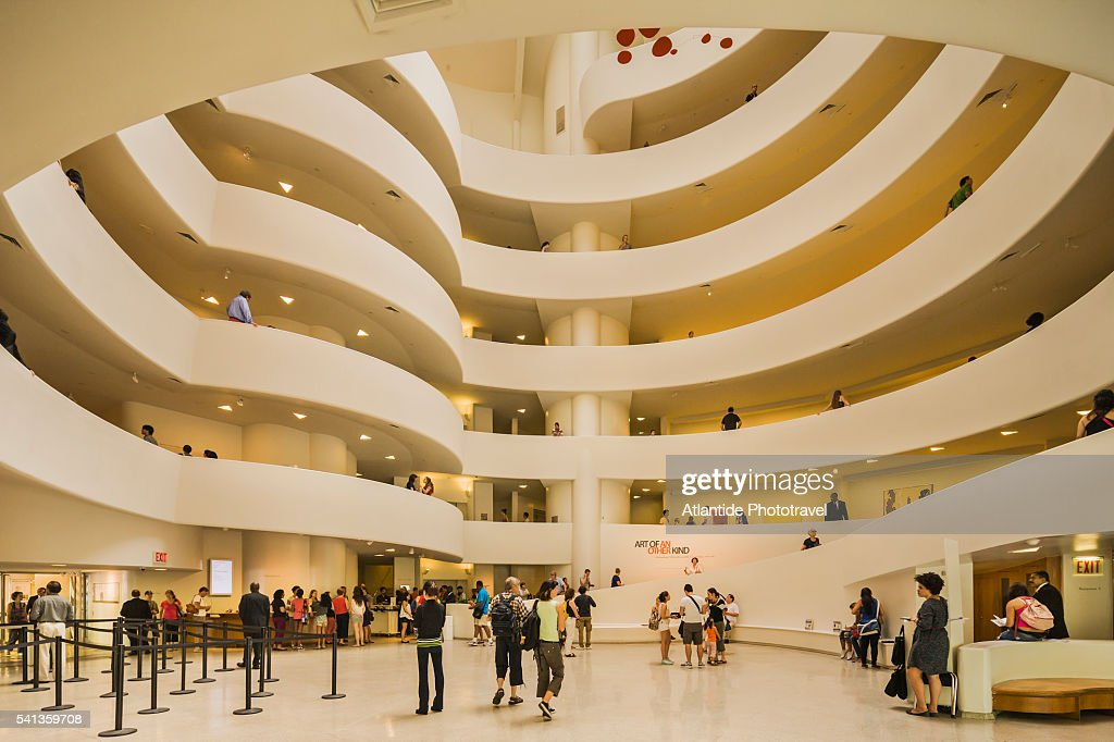 Solomon R, Guggenheim Museum : Stock Photo