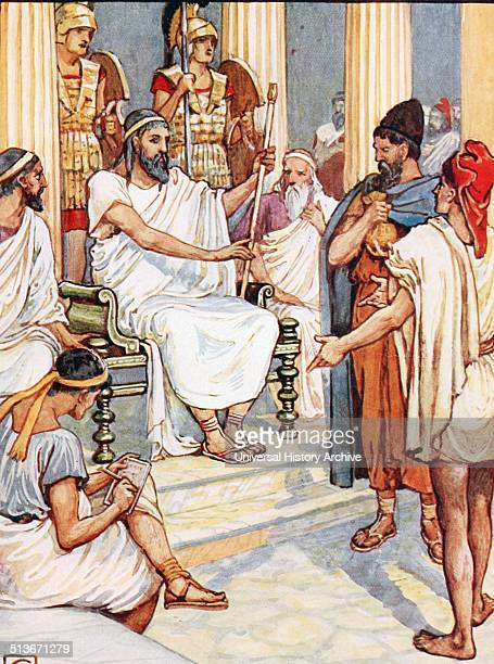 Solon c. 638 BC – c. 558 BC; Athenian statesman, lawmaker, and poet, often credited with having laid the foundations for Athenian democracy.