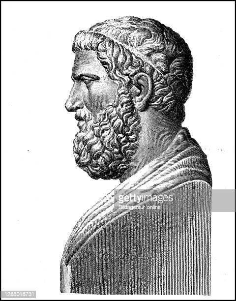Solon, v to 640th Chr.- v. 560 Chr., An Athenian statesman and poet / Solon, um 640 v. Chr.- um 560 v. Chr., ein athenischer Staatsmann und Lyriker,...