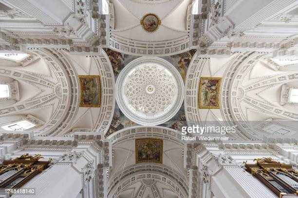 solothurn cathedral - nave stock pictures, royalty-free photos & images