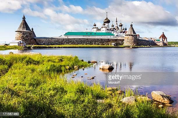 Solovetsky-Kloster in der heilige See