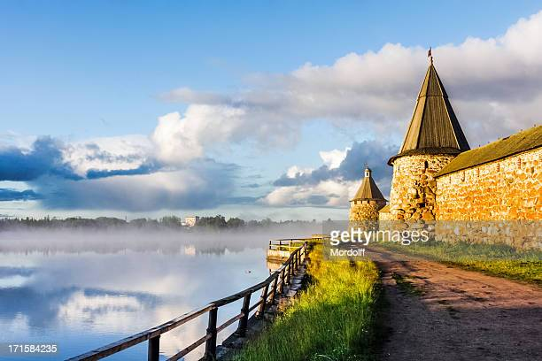Solovetsky Monastery in early morning