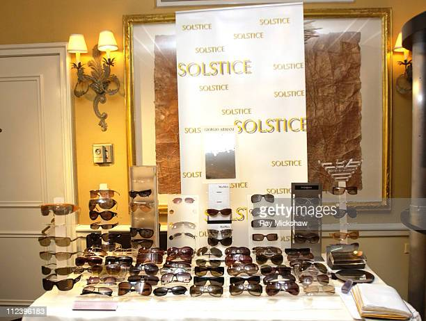 6dd5e757d0 Solstice Sunglass Boutique during Solstice Sunglass Boutiques at the HBO  Luxury Lounge Day 2 at Peninsula