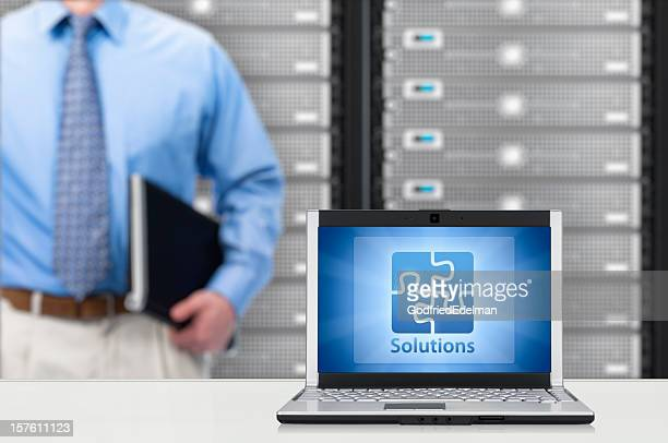 IT Solutions Concept