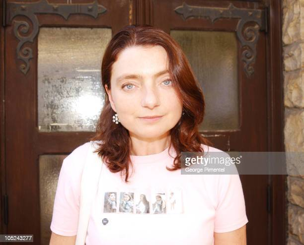Solveig Anspach during 2003 Toronto International Film Festival Unifrance Press Luncheon at Prego in Toronto Ontario Canada