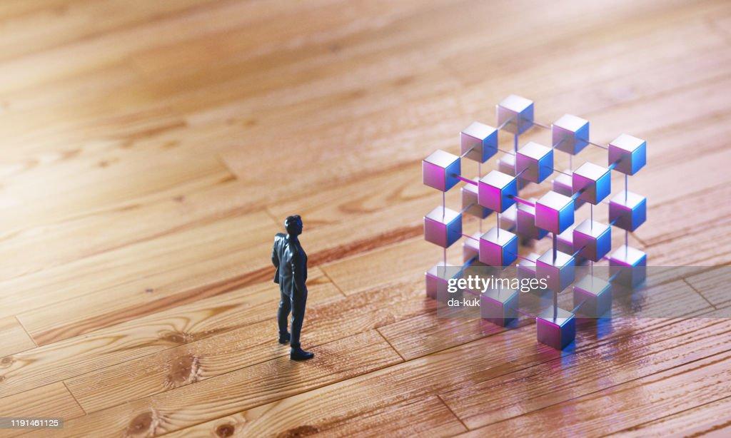 パズルの概念を解く : ストックフォト