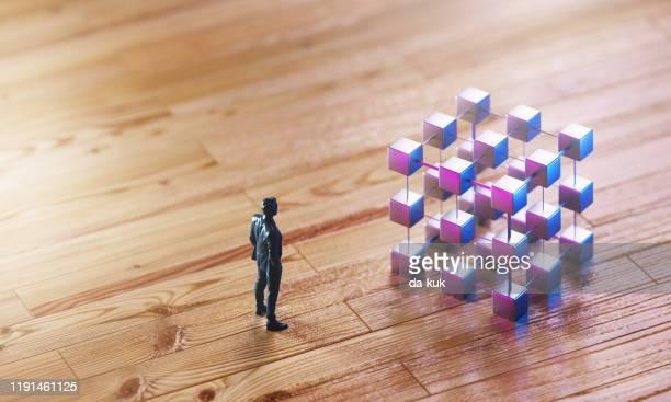 パズルの概念を解く - データマイニング ストックフォトと画像