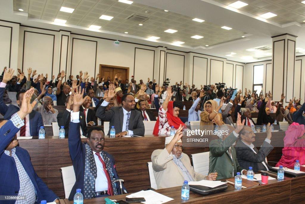 SOMALIA-POLITICS : News Photo