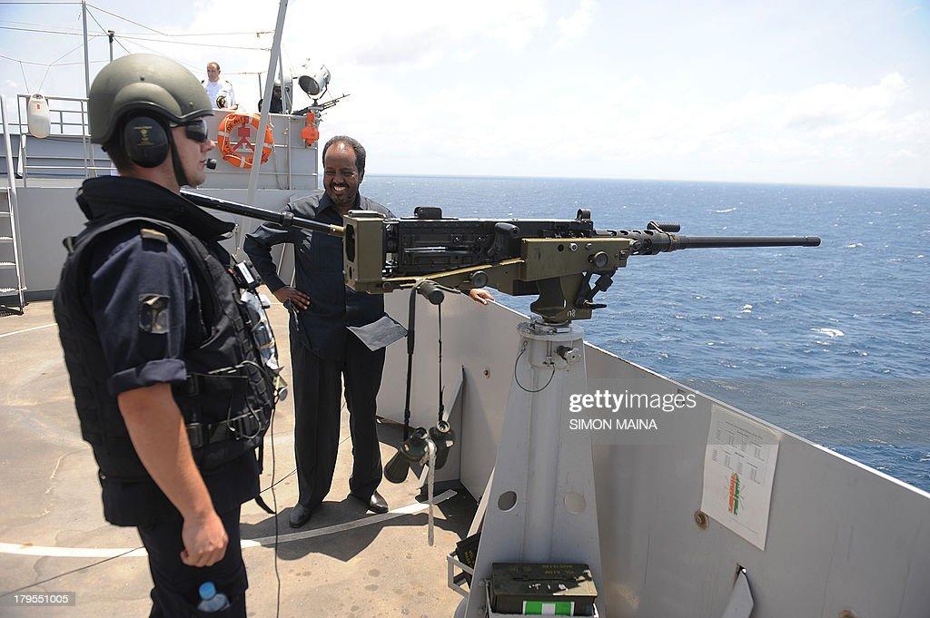 SOMALIA-EU-DIPLOMACY-PIRATES : News Photo