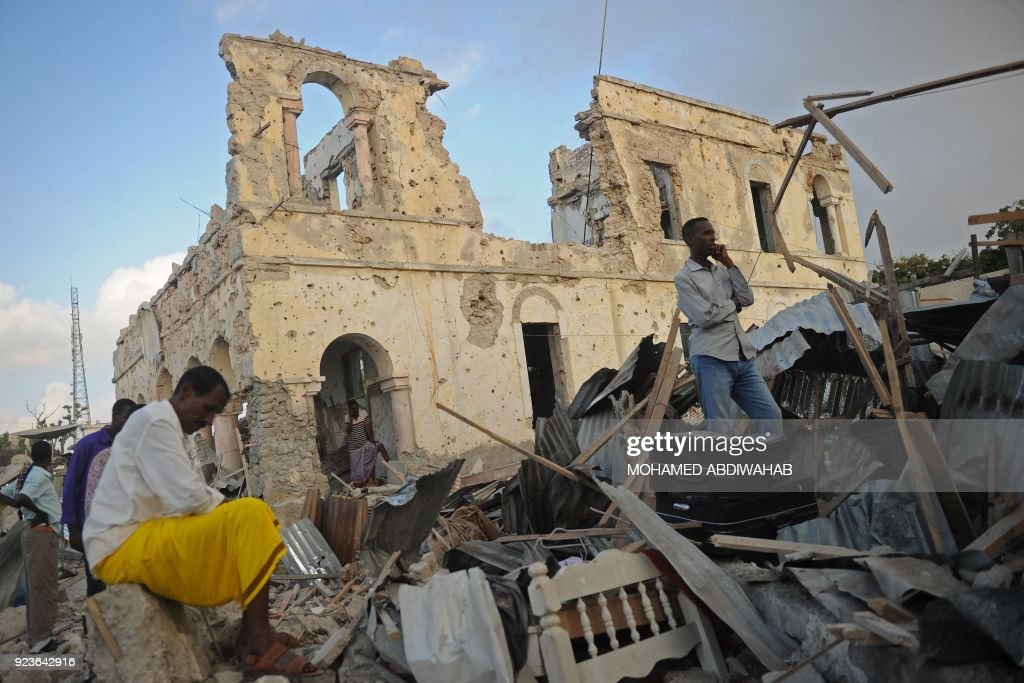 Death toll rises to 38 in Mogadishu bombings