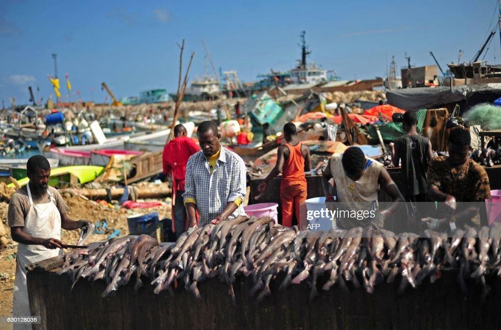TOPSHOT-SOMALIA-FISHING : News Photo