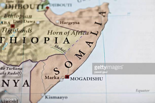 La Somalie carte