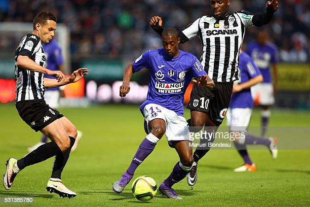 Somalia of Toulouse during the football french Ligue 1 match between Angers SCO and Toulouse FC on May 14 2016 in Angers France